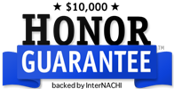 InterNACHI Honor Guarantee logo